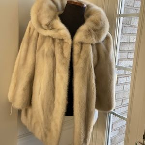 Peal Mink Fur Jacket